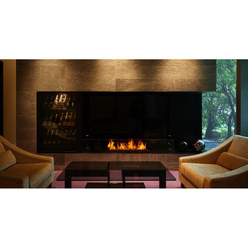 br leur noir pour chemin e bio thanol ecosmart fire xl 1200. Black Bedroom Furniture Sets. Home Design Ideas