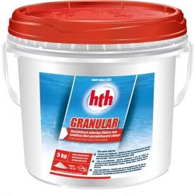 HTH Granular 5kg - chlore choc granulés