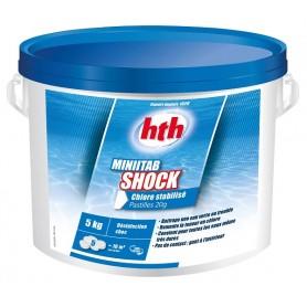 HTH Minitab Shock 5kg - chlore choc pastilles