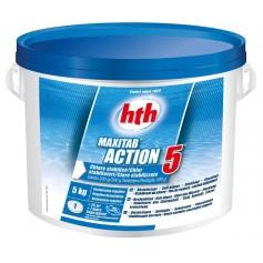 HTH Maxitab Action 5 en 5kg - chlore multifonction