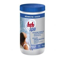 HTH Spa Chlor Sprudeltabletten 1kg - chlore spa