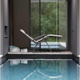 Bayanne fauteuil Relax Gordes Lafuma Mobilier coloris Latte (beige)