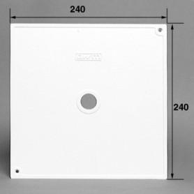 Couvercle de skimmer OWM carré, 24x24cm