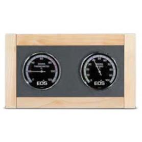 Thermomètre Hygromètre de sauna EOS Premium en érable