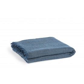 Plaid Séléné bleu 150x200 cm