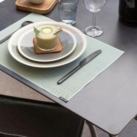 Set de table 43,5 x 32 cm jade