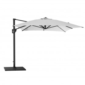 Cane-Line parasol Hyde Luxe 4x3 Dusty white