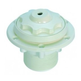 """OWM buse blanche 12 mm 2"""" ext. pour piscine liner"""