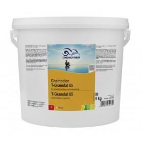 Chlore choc 5kg en granulés Chemoclor T-Granulat 65 Chemoform