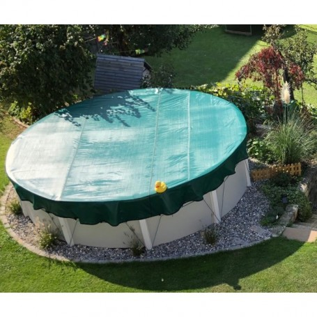 Filet d'hivernage piscine hors sol ovale 7.11x3.66m