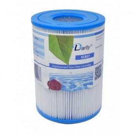 Cartouche de spa Darlly SC827 piscine Intex S1 : lot de 2