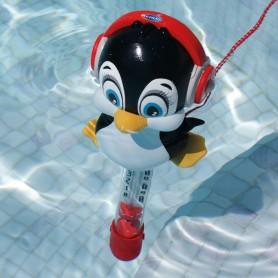 Thermomètre piscine Pingouin