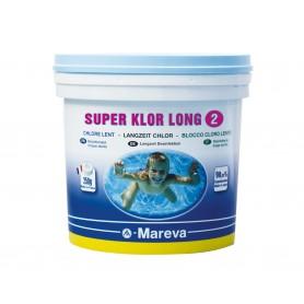 Chlore lent 5kg - Super-Klor long