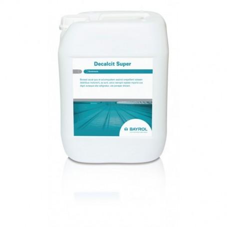 Decalcit Super (Becken) 10l - nettoyant acide Bayrol