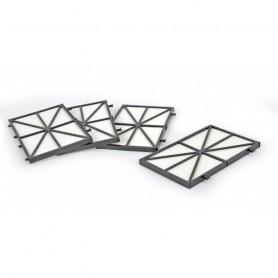 Filtre à cartouche standard ultrafin 50 microns (set à 4 pcs)