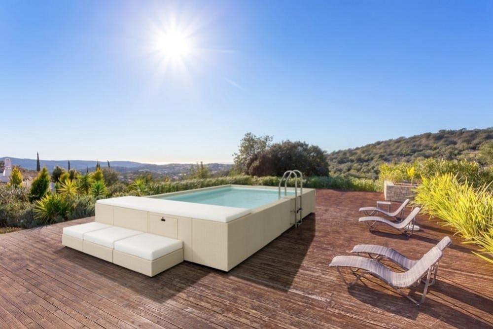 Nouveau : piscines hors-sol Laghetto sur notre boutique