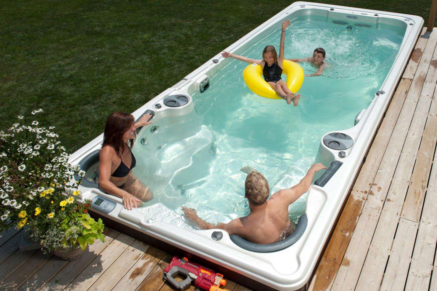 Spa de nage Hydropool 19 FX Aquatrainer