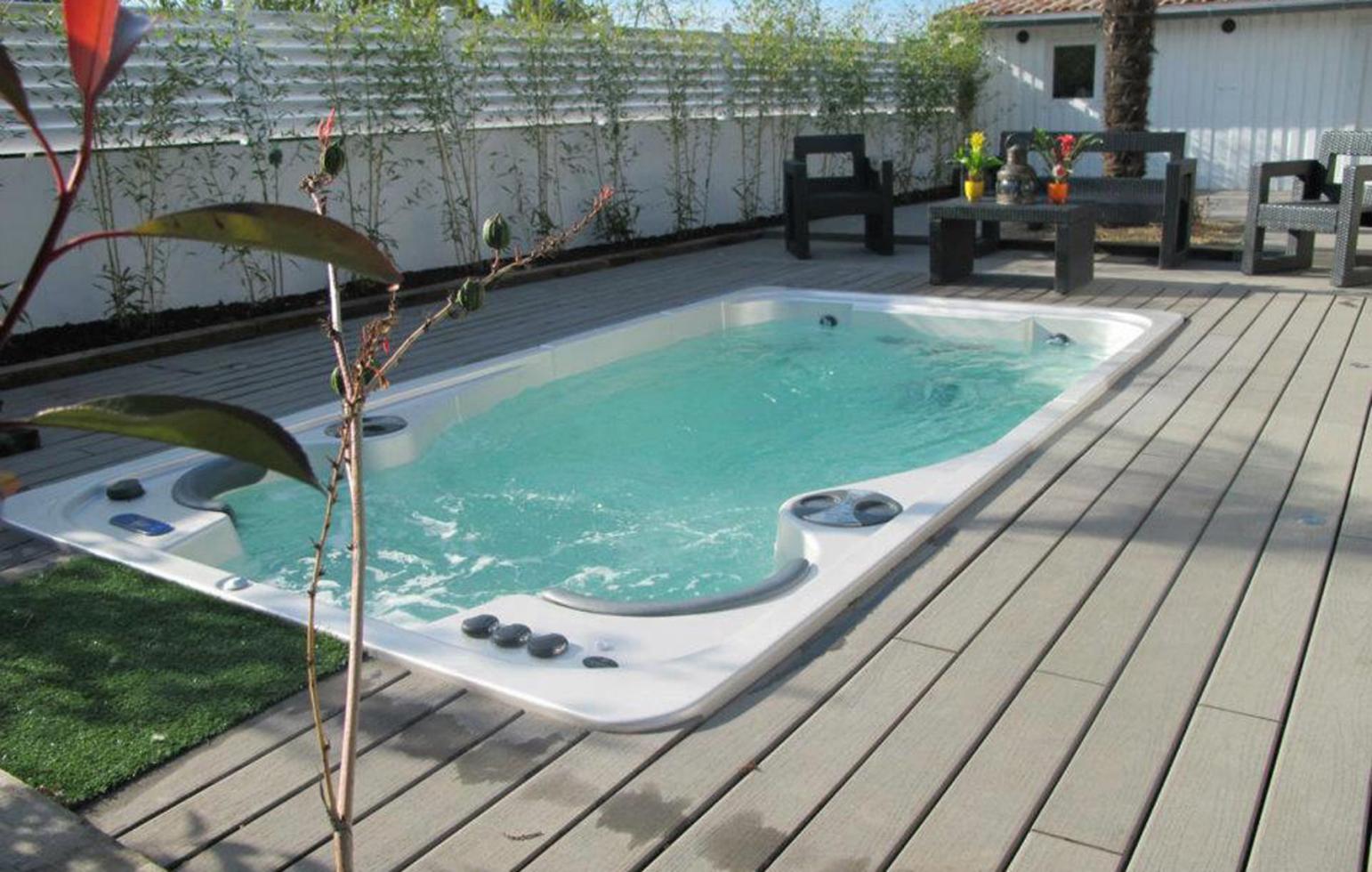 Spa de nage Hydropool 14 FX Aquatrainer